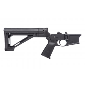 AR15 Complete Lower Receiver w/ MOE(R) Grip & Fixed Carbine Stock