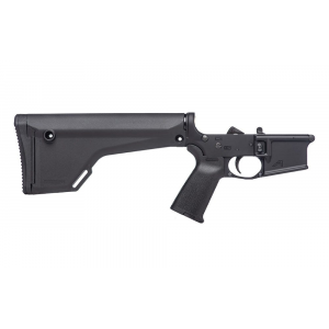 AR15 Complete Lower Receiver w/ MOE(R) Grip & Fixed Rifle Stock