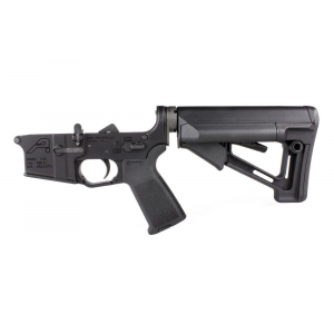 AR15 Complete Lower Receiver w/ Magpul MOE & STR - Anodized Black