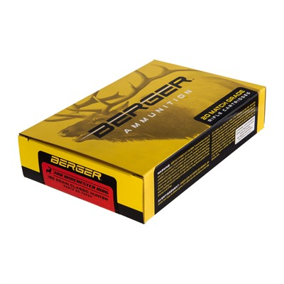 Berger Bullets Match Grade Hunting 300 Winchester Magnum Ammo