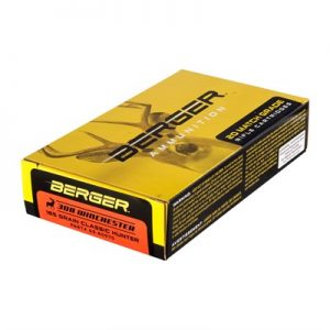 Berger Bullets Match Grade Hunting 308 Winchester Ammo