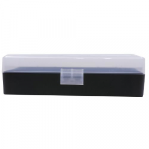Berry's Ammo Box #408 - .40 S&W/.45 ACP 50/rd Clear/Black