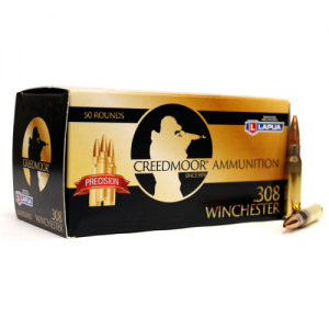 Creedmoor .308 155 Gr Ammunition In Lapua Brass