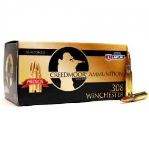 Creedmoor .308 167 Gr Ammunition In Lapua Brass