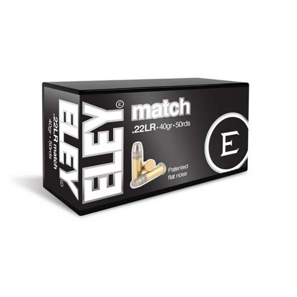 Eley Match EPS .22 LR Ammunition