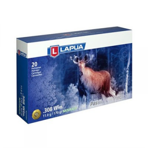 Lapua Naturalis Ammo 308 Winchester 170gr Lead-Free Polymer Tip