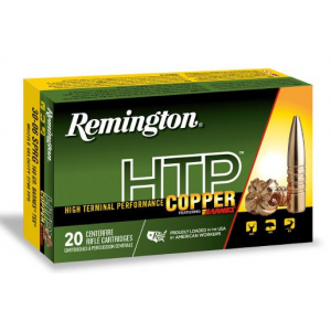 Remington HTP Copper Rifle Ammunition .30-06 Sprg 168 gr TSX 20/ct